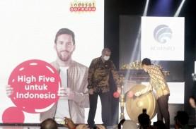 Ada Lionel Messi di Peluncuran 5G Indosat (ISAT)
