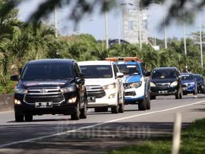 Tim Jelajah Infrastruktur Metro Mamminasata Bisnis Indonesia Susuri Jalan Outer Ring Road Mamminasata