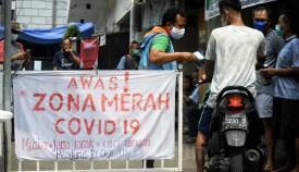 Zona Merah Covid-19 di DKI Jakarta Terus Meluas
