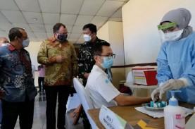 LONJAKAN KASUS COVID-19 : Percepatan Vaksinasi Mendesak