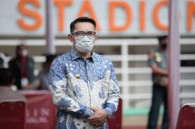 DUKUNGAN PEMBANGUNAN JABAR : Ridwan Kamil Dekati Ketua…