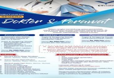 CT Corp Buka Lowongan Tenaga Medis & Nakes, Gaji 50 Juta