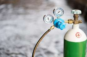 Kasus Covid-19 Naik, Permintaan Gas Oksigen Medis…