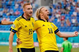 Hasil Grup E Euro 2020: Swedia dan Spanyol Menang,…