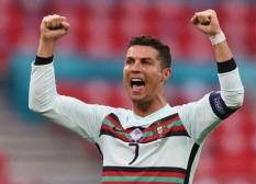 Ronaldo Satu-satunya Pemain Cetak Gol di 3 Pertandingan Grup Euro