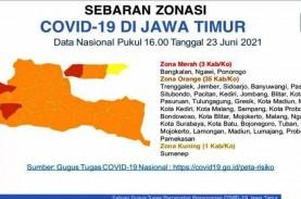 Tiga Daerah Jatim Zona Merah, Ngawi, Ponorogo dan…