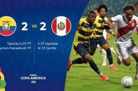 Hasil Copa America : Ekuador Gagal Pertahankan Keunggulan,…