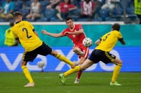 Fakta Euro 2020: Swedia Lolos 16 Besar Lagi, Lewandowski…