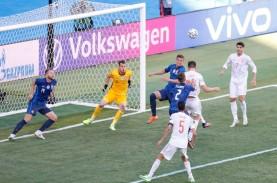 Fakta Pertandingan Euro 2020: Spanyol Samai Rekor…