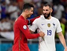 Reuni Ronaldo dan Benzema, Pencetak Gol Laga Prancis vs Portugal