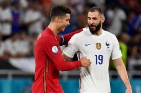 Reuni Ronaldo dan Benzema, Pencetak Gol Laga Prancis…