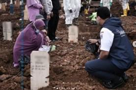 Hanya Setengah Hari, Dinkes DKI Makamkan 132 Jenazah…