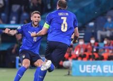 Prediksi Italia vs Austria: Chiellini Absen, Veratti Gantikan Locatelli?