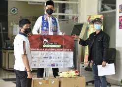 Zona Merah Jakarta dan Tangerang Dapat Bantuan APD, Hand Sanitaizer