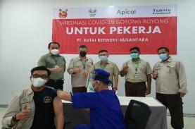 Apical Group Gelar Vaksinasi Karyawan di Balikpapan