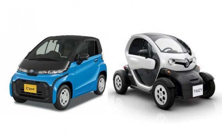 Mobil Listrik Mungil Di Indonesia Renault Twizy Atau Toyota C Pod Otomotif Bisnis Com