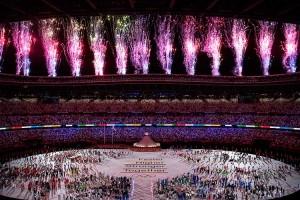 Kemegahan Pembukaan Olimpiade Tokyo 2020 di Tengah Pandemi Covid-19