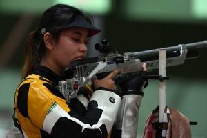 Atlet Menembak Putri Indonesia Vidya Rafika Toyyiba Gagal Melaju ke Final Olimpiade Tokyo 2020