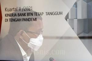 Penyaluran Kredit Bank BTN Tumbuh 5,59 Persen Pada Kuartal II/2021