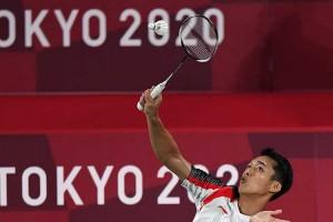 Jonatan Christie Lolos Ke Babak 16 Besar Olimpiade Tokyo 2020