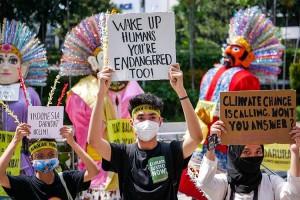 Aksi Demo Krisis Iklim di Jakarta