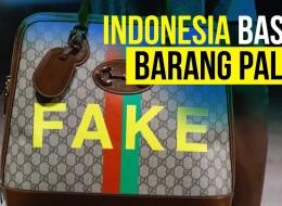 Indonesia Ditargetkan Bebas Barang Palsu Mei 2022