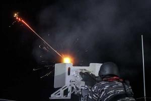TNI AL Gelar Latihan Menembak AAROFEX di Perairan Kepulauan Riau