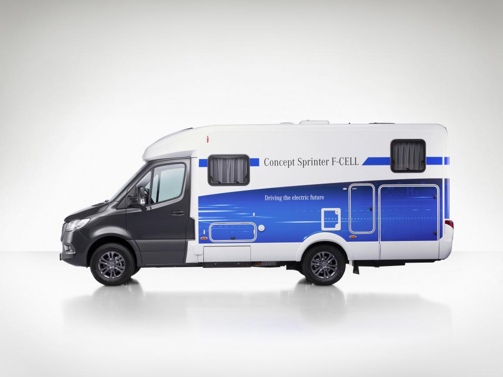 Mercedes-Benz Van Concept Sprinter F-Cell