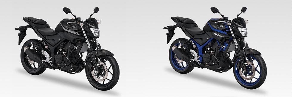 Yamaha MT-25 adalah sepeda motor sport bermesin 249 cc produksi Yamaha Motor Company yang diluncurkan pada 2015. Sepeda motor ini merupakan versi telanjang dari YZF-R25. /YAMAHA
