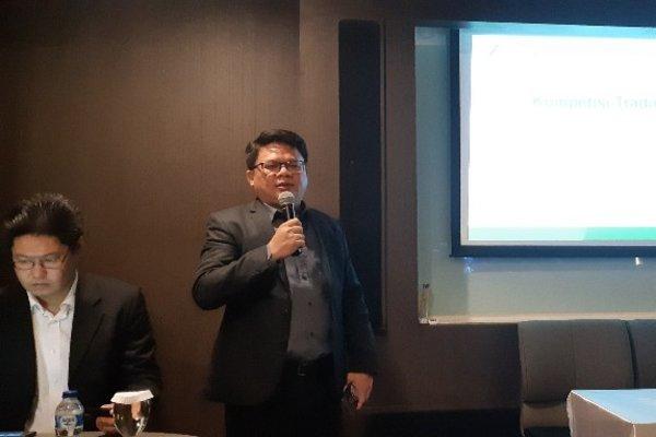 Ariston Tjendra, Kepala Bidang Riset dan Konten PT Monex Investindo Futures di Jakarta (31/10/2018)./Mutiara Nabila